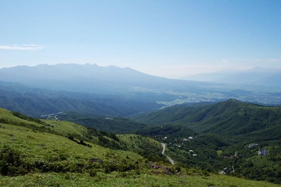 車山高原の景色