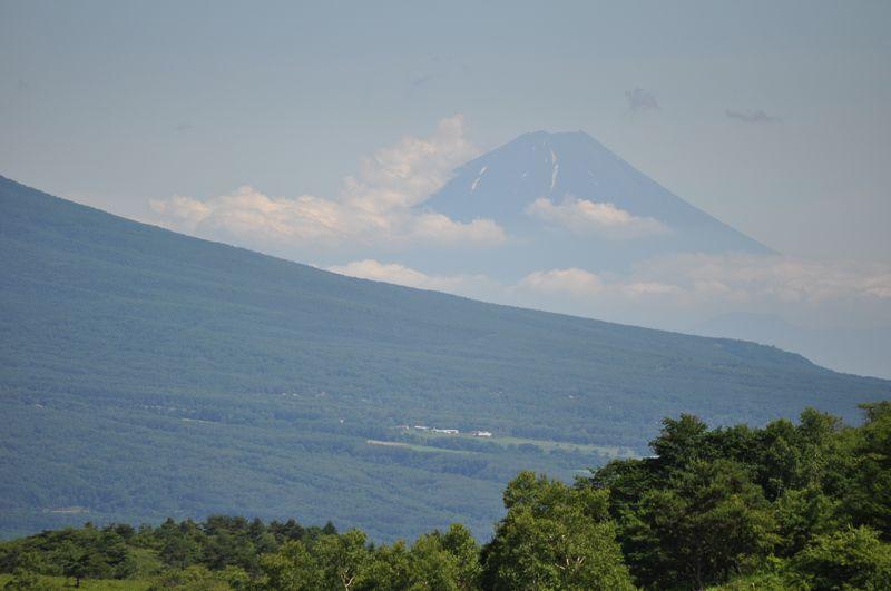 伊那丸台より富士山